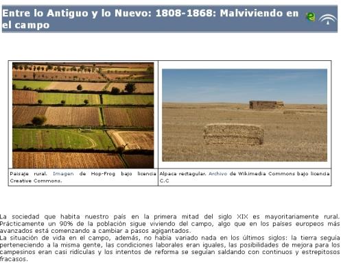 Libro digital sobre la agricultura española entre 1808 y 1868