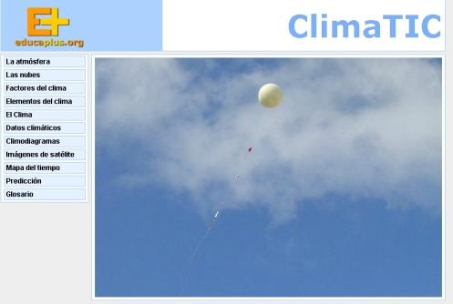 Climatic: recurso para el estudio de la climatología
