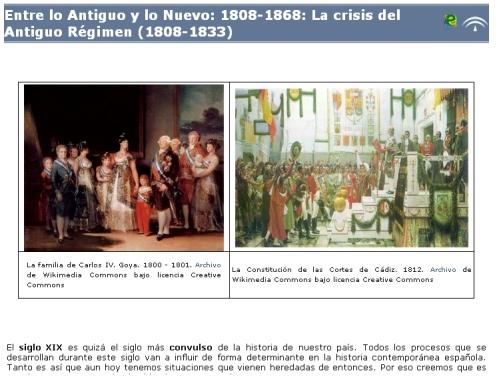 Libro digital sobre la crisis del Antiguo Régimen y el reinado de Fernando VII