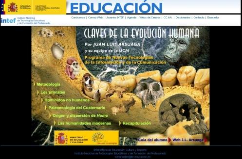 Libro digital sobre la evolución humana y el Paleolítico