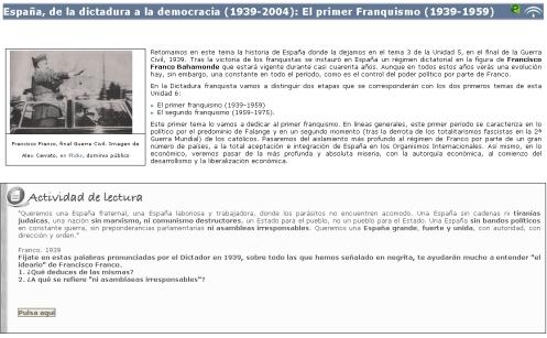 Libro digital sobre el primer franquismo (1939-1959)
