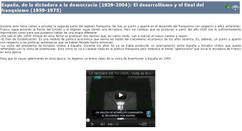 Libro digital sobre el desarrollismo y el final del franquismo (1959-1975)