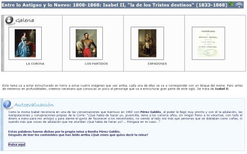 Libro digital sobre el reinado de Isabel II (1843-1868)