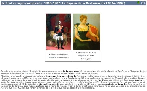 Libro digital sobre la España de la Restauración (1874-1902)