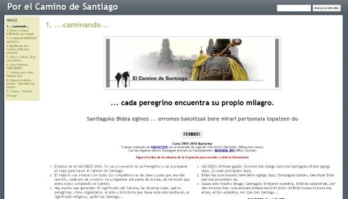 Secuencia didáctica sobre el Camino de Santiago