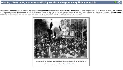 Libro digital sobre la Segunda República