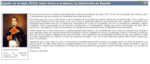 Unidad digital sobre el siglo XVIII en España