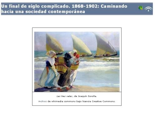 Libro digital sobre la sociedad española durante la Restauración