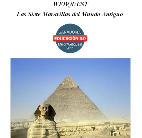 Webquest para 1º de ESO sobre el arte antiguo