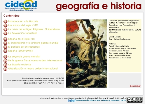 Libros digitales Historia Proyecto ed@d