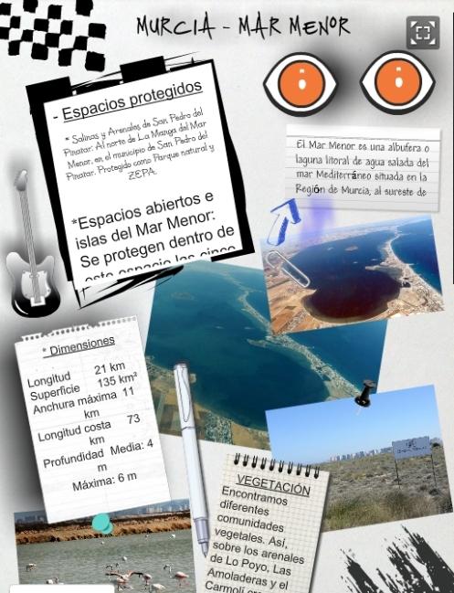 Glogster del Mar Menor 3º C