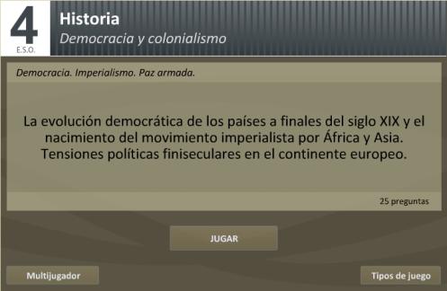 Test sobre el Imperialismo