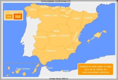 Comunidades Autónomas España