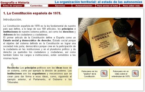 Libro digital Territorio Español