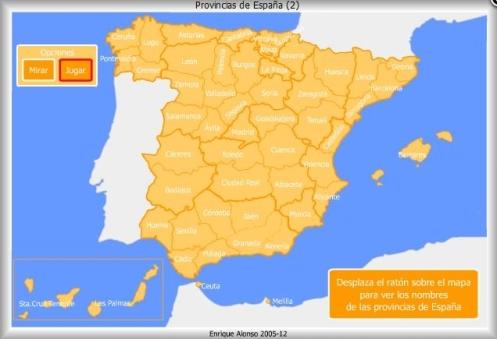 Provincias España