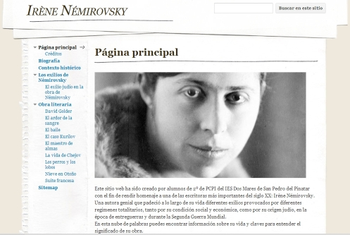 Wiki sobre Irene Nemirovsky