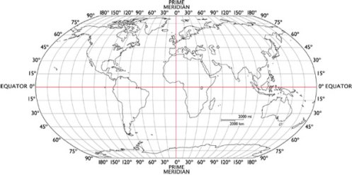 Latitude and longitude world map finder