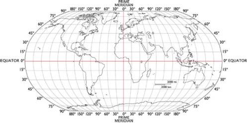 Latitude and longitude world map finder