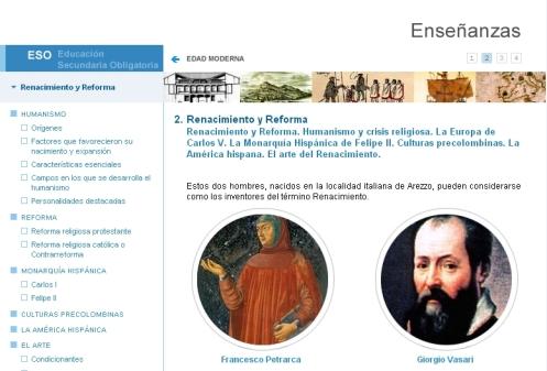 Libro digital sobre el Renacimiento y la Reforma