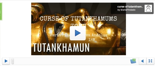 Tutankhamuns tomb in Presentme