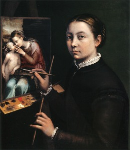 Sofonisba Anguissola en Wikimedia Commons. Licencia DP