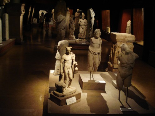 Istanbul Archaelogy Museum on Wikimedia Commons, License PD