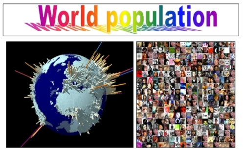 The Earth population
