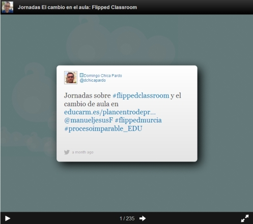 #flippedmurcia en Storify