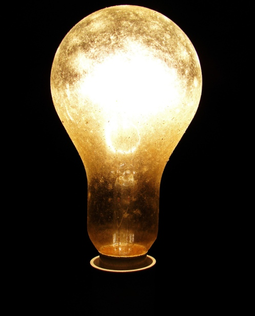 Bright idea. Imagen de David Reece en Flickr. Licencia CC BY SA NC.